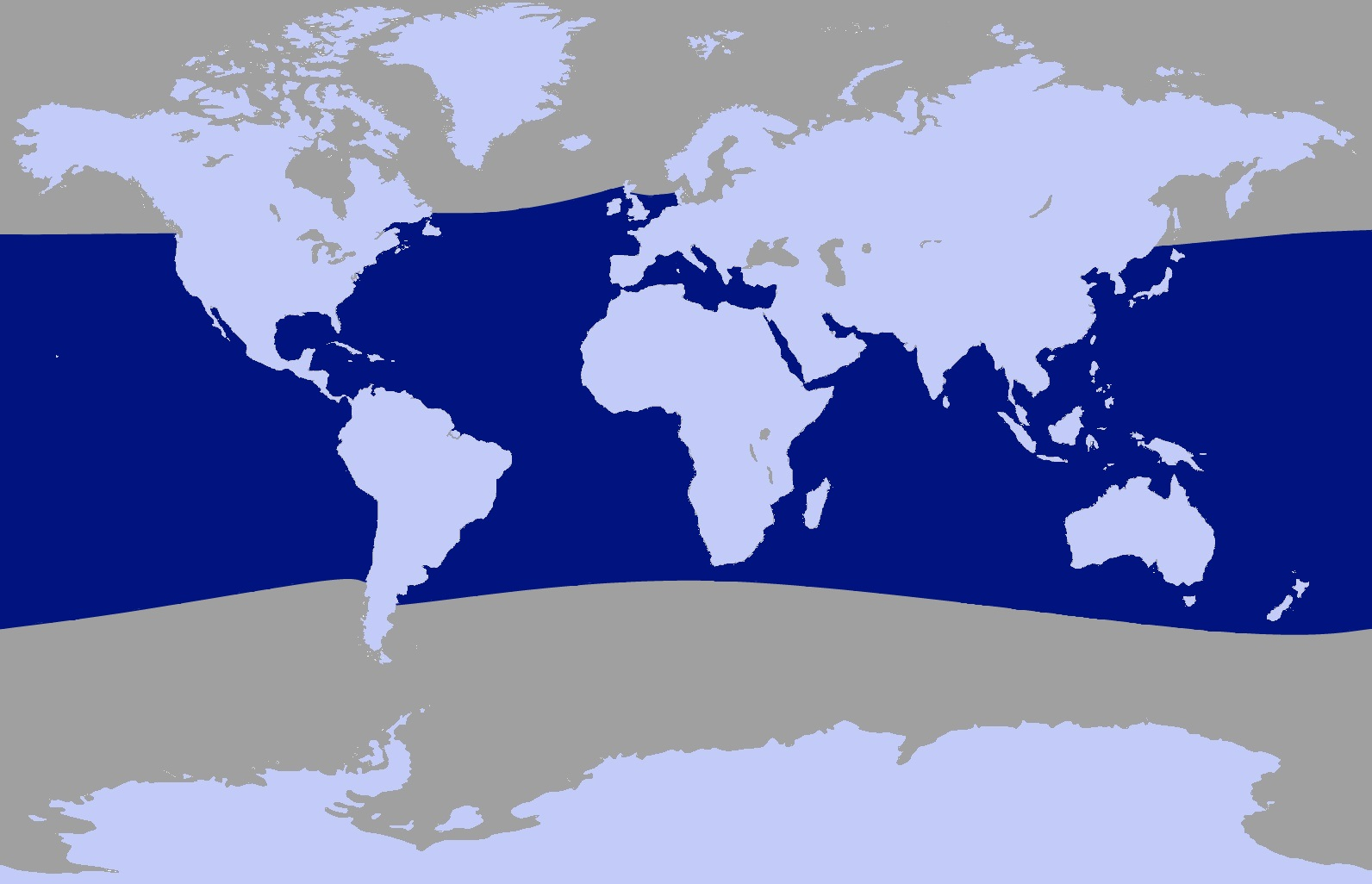 Habitat of the pygmy sperm whale #11